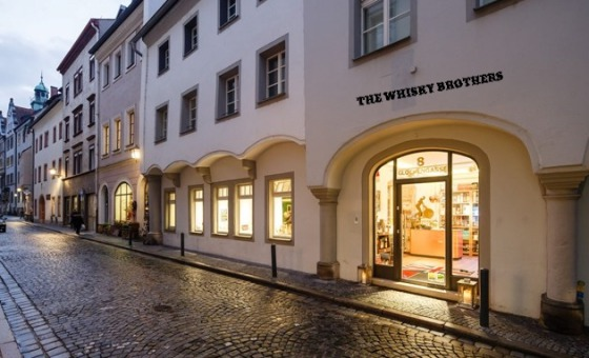 Ladengeschäft The Whisky Brothers, Glockengasse 8, Welterbe Regensburg