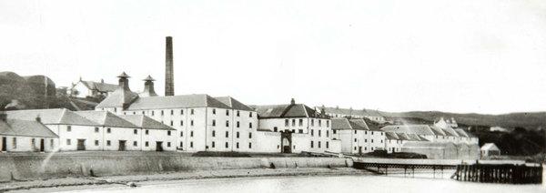 Historische Ansicht Bunnahabhain Distillery